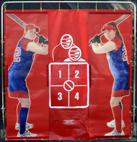 Pitcher's Mate Softball Pitching Target